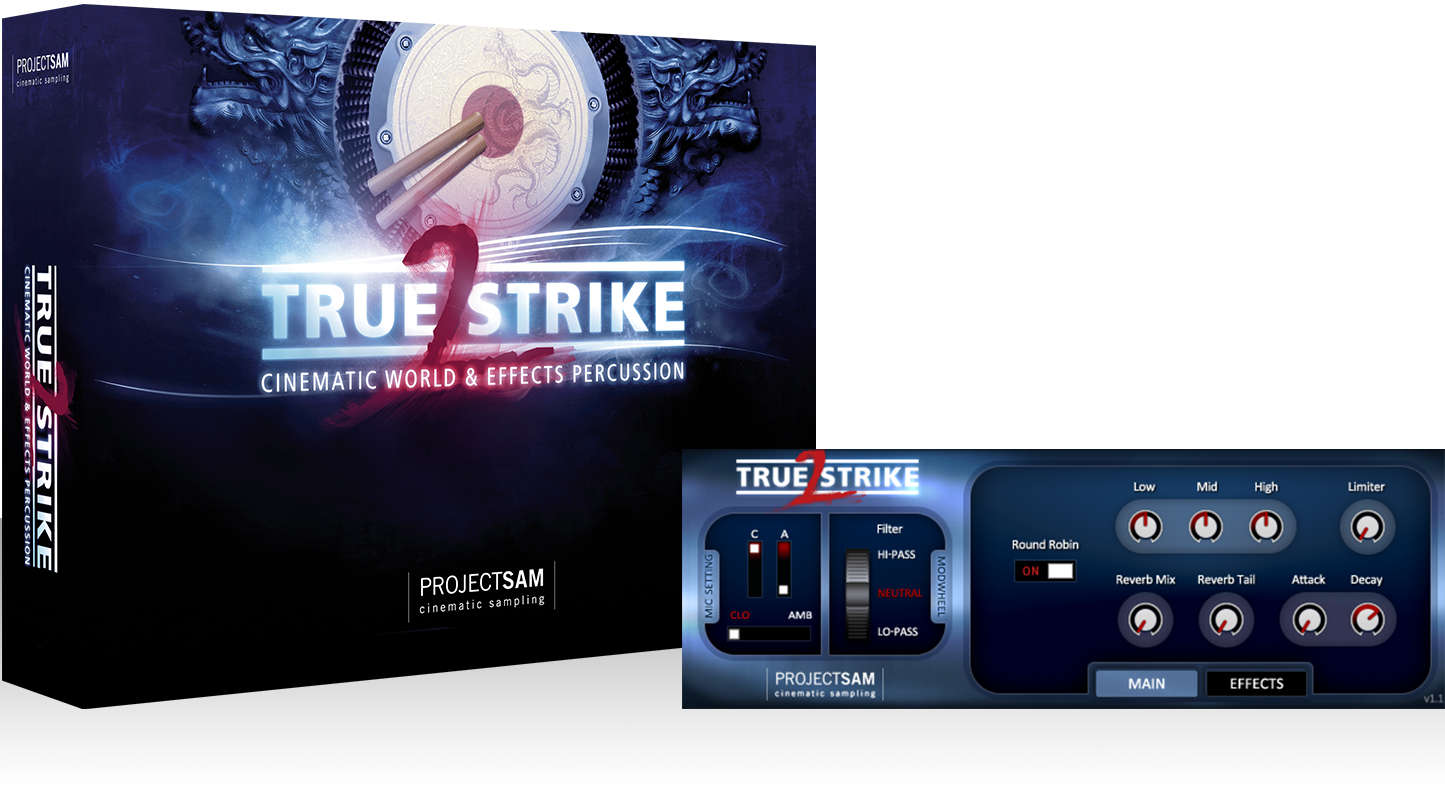 Projectsam true strike 1 & 2 bundle (download code) | sx pro.